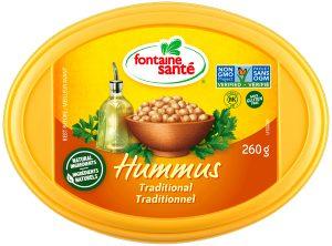 Hummus de la marque Fontaine Santé
