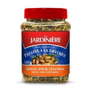 Épices pour légumes de la marque LA JARDINIÈRE