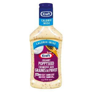 La gamme de vinaigrette Kraft Calorie Wise